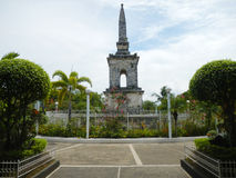 Mactan shrine. Is a landmark of Cebu, Philippine Stock Photo