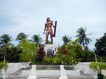 Mactan shrine. Is a landmark of Cebu, Philippine Royalty Free Stock Photos