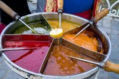 Macun затира тахты турецкое традиционное сладостное Стоковое Изображение RF