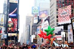 Macy的感恩日游行2009年11月26日 免版税库存照片