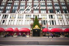 Macy的NYC圣诞节 库存照片