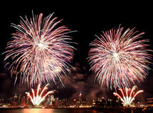 Macy ô de fogos-de-artifício de julho Fotos de Stock