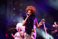 Macy Gray Royalty Free Stock Photography