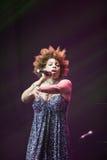 Macy Gray Performance Royaltyfri Bild