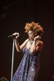 Macy Gray Performance Immagine Stock