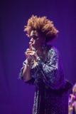 Macy Gray Performance Royalty Free Stock Image