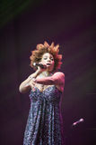 Macy Gray Performance Royalty Free Stock Image