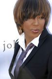 Macy Gray on the red carpet. Royalty Free Stock Photo