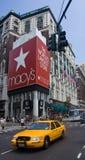 Macy's и 5-ый бульвар Стоковая Фотография