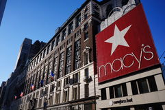 Macy's. Store in the manhattan Royalty Free Stock Image