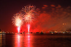The Macy's 4th of July fireworks displays Stock Photo