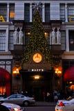 Macy's Believe meter, Manhattan, NYC Stock Images