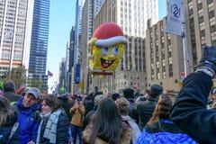 Macy-` s Danksagungs-Tagesparade in New York City lizenzfreies stockbild