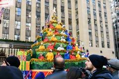 Macy-` s Danksagungs-Tagesparade in New York City lizenzfreie stockbilder