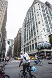 Macy`s department store in New York City, USA royalty free stock photo