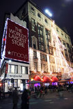 Macy's Department Store at night Stock Image