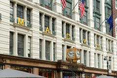 Macy's Department Store, NYC. Macy's Department Store on 34th street near Herald Square, Manhattan, New York City, USA Stock Photos