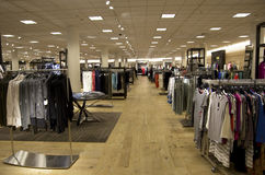 Macy's department store women clothing Royalty Free Stock Photography