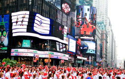 Macy's Dziękczynienia Dzień Parada Listopad 26, 2009 Zdjęcie Stock