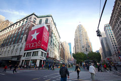 Macy's Herald Square Manhattan Stock Image