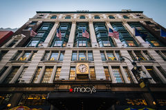 Macy's at Herald Square in Midtown Manhattan, New York. Royalty Free Stock Photography
