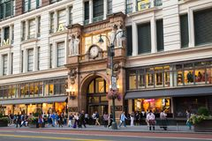 Macy ` s Herald Square NYC Royalty-vrije Stock Afbeelding