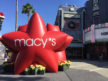 Macy`s Holiday Star Stock Photography