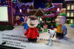 Free Macy S Holiday Windows 2015: The Peanuts Gang 1 Stock Photography - 62977182