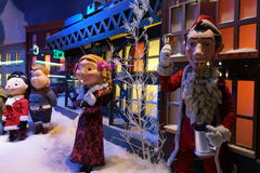 Macy's Holiday Windows 2015:  The Peanuts Gang 36 Royalty Free Stock Photography