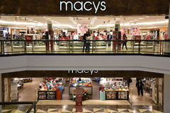 Macy`s at King of Prussia Mall in Pennsylvania Stock Image