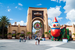 Macy's parade at Universal Studios Royalty Free Stock Photos