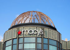 Macy's storefront in Palm Beach, Florida Stock Photos