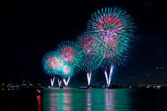 Macy's 4th of July Fireworks Stock Images