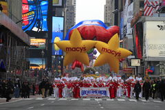 Macy's Thanksgiving Day Prade royalty free stock photography