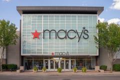 Macy` s warenhuis stock foto's