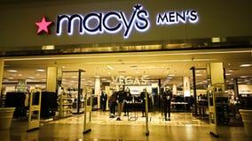 Macy` s warenhuis stock foto