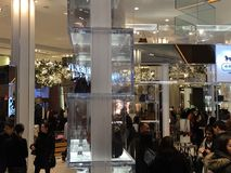 Macy&#x27 ; magasin emblématique de s Herald Square à New York Photo stock