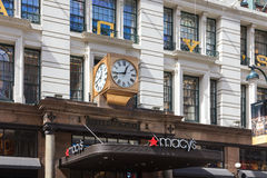 Macy's Department Store Royalty Free Stock Image