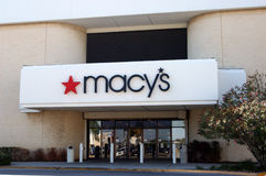 Macys closing stores Royalty Free Stock Image