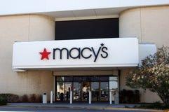 Macys closing stores. Macys closing 9 stores due to bad economy Royalty Free Stock Image