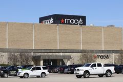 Dayton - Circa April 2018: Macys Department Store. Macy's, Inc. is one of the Nation's Premier Omnichannel Retailers I. Macys Department Store. Macy's, Inc Royalty Free Stock Photo