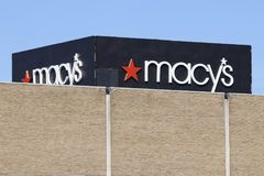 Dayton - Circa April 2018: Macys Department Store. Macy's, Inc. is one of the Nation's Premier Omnichannel Retailers II. Macys Department Store. Macy's Stock Images