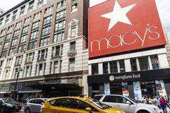 Macys department store in New York City, USA stock photography