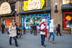 Macys New York City Christmas Royalty Free Stock Photography