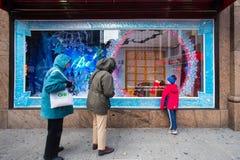 Macys NYC Foto de archivo libre de regalías