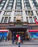 Macys NYC Christmastime Royalty Free Stock Image