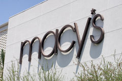 Macys Retail Clothing Store. In Phoenix, Arizona, shopping mall royalty free stock photography