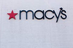 Macys store sign Stock Image