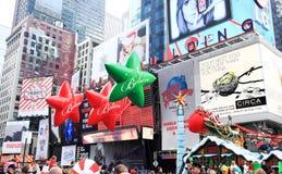 Macys tacksägelsedagen ståtar November 26, 2009 Fotografering för Bildbyråer
