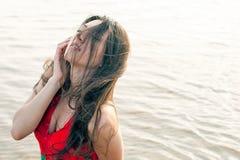 maczka azjatykci piękny smokingowy portret Obraz Stock